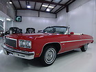 1975 CHEVROLET CAPRICE CONVERTIBLE, FACTORY AIR CONDITIONING EXTREMELY ORIGINAL