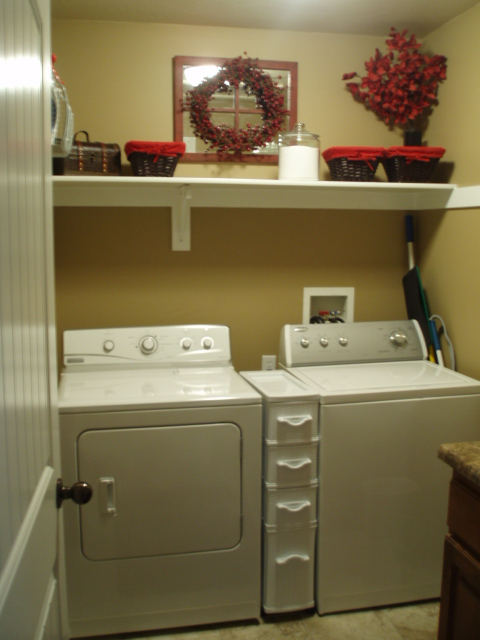 The Culinary Queen Laundry Room Makeover Reveal