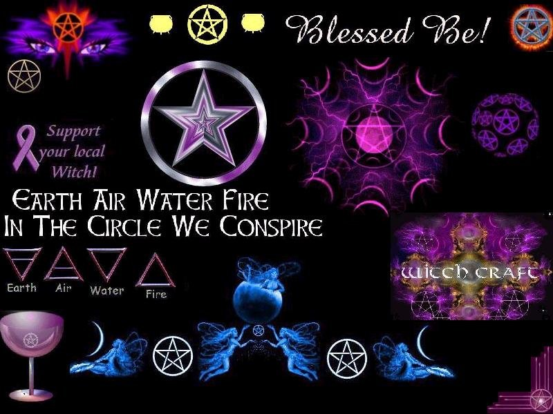 wiccan wallpaper submited images