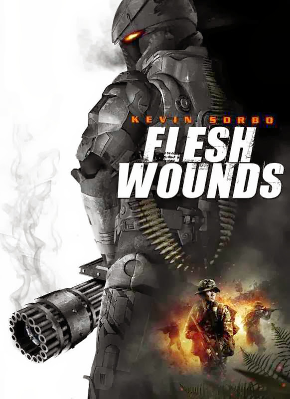 Poster Of Flesh Wounds (2011) Full Movie Hindi Dubbed Free Download Watch Online At Alldownloads4u.Com