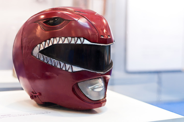 Casco de los Power Rangers