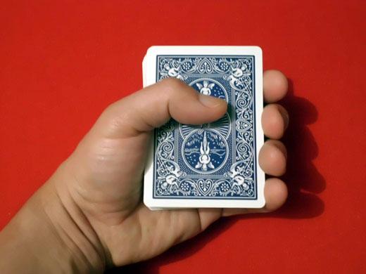 Posición de repartir cartas 2