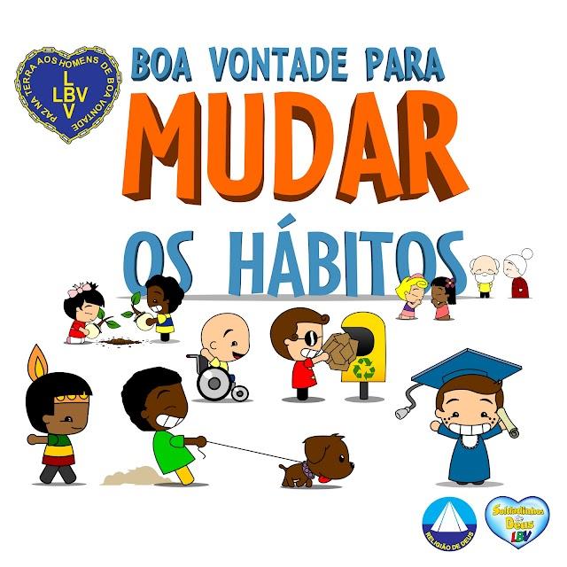 Bons hábitos pautam encontro de crianças da LBV