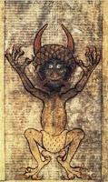 O Διάβολος, που σημαίνει ετυμολογικά Δίας + βάλλω είναι αυτός που πλήττει τον Θεό Δία. Είναι ένα καταραμένο πνεύμα που δημιούργησε ο Θεός Άδης κάτω στα Τάρταρα.