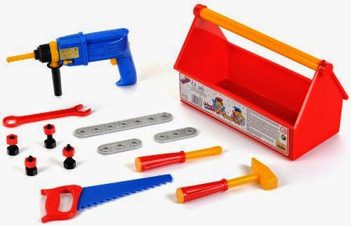 Bộ dụng cụ máy khoan bằng nhựa an toàn Klein