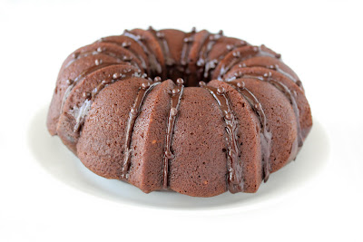 photo of an avocado chocolate cake