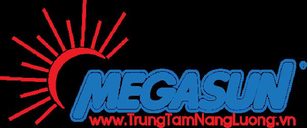 Logo máy nước nóng năng lượng mặt trời Megasun