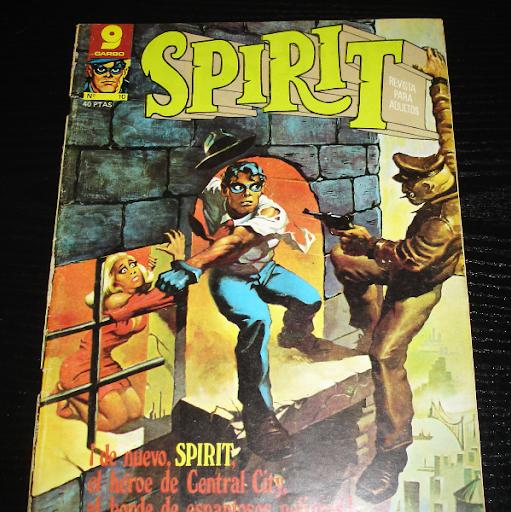 Spirit nº 10-comic- año