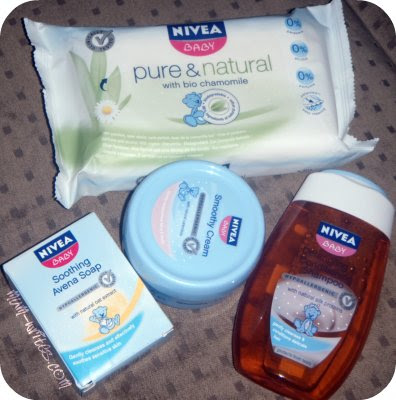 baby products, product review, review, Nivea Baby