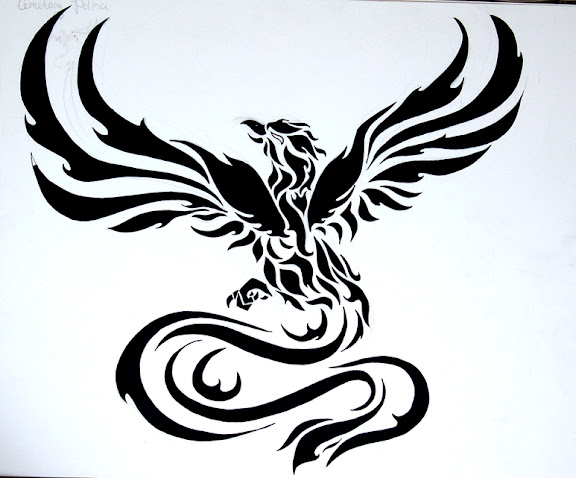 pheonix tattoo designs