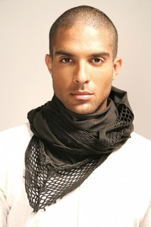 Scarf fashion photo