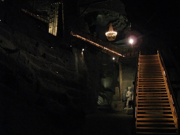 w kopalni
