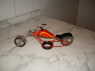 Harley Davidson Vermelha miniatura