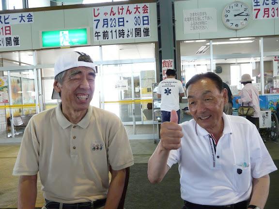飯田さんのリードで会話が弾みます