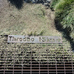 Threbo 1.5km sign (271646)