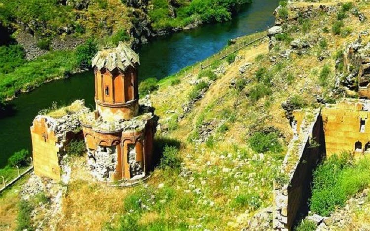 Near East: Restoration of Armenian churches begun in Turkey