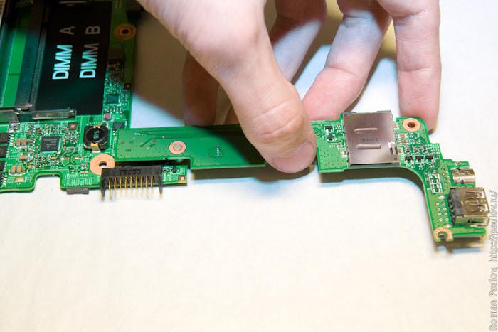 Как разобрать ноутбук Dell Inspiron 1525 52