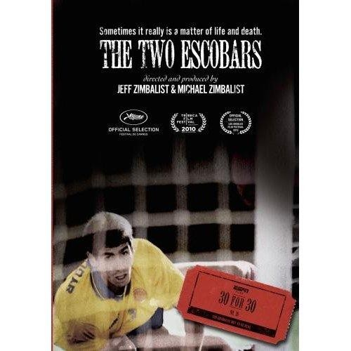the two escobars The two escobars pulls together several story strands, multiple historical events, and a collection of subjects who are variously cynical, self-aware, and determinedly romantic time 'n' place.