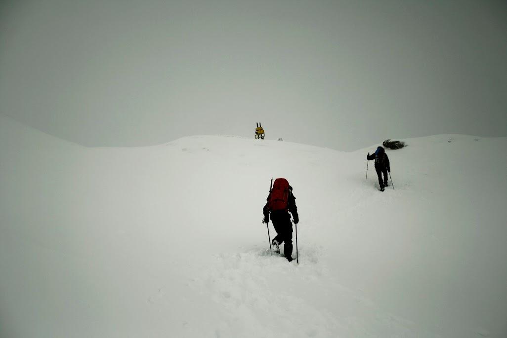 Żarska Przełęcz zima
