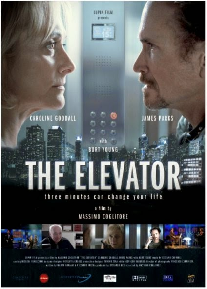 Poster Of English Movie The Elevator: Three Minutes Can Change Your Life (2013) Free Download Full New Hollywood Movie Watch Online At Alldownloads4u.Com