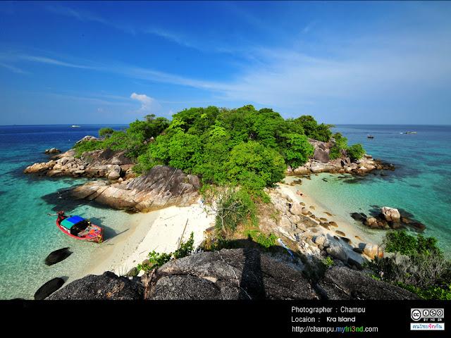 เกาะกระ เป็นเกาะเล็กๆ ที่อยู่ ติดๆ หลีเป้ะเลย