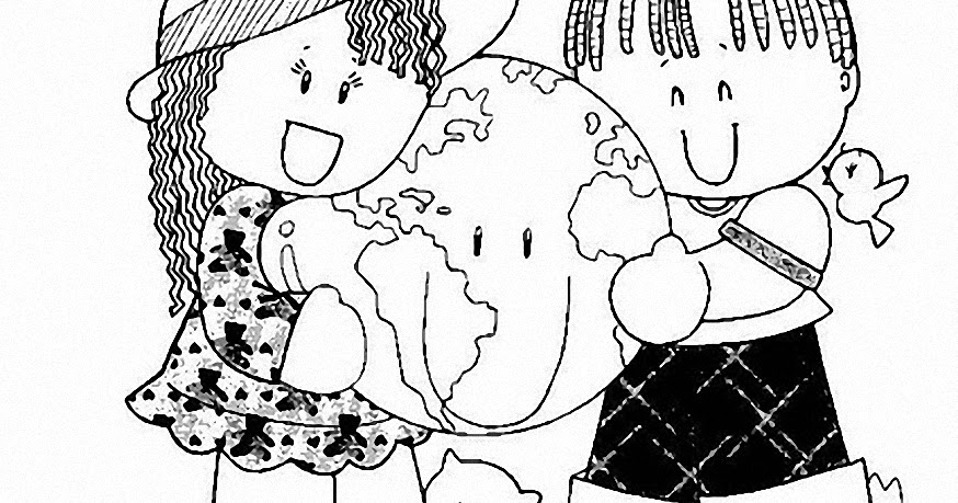 Pinto Dibujos: Paz En Mundo Para Colorear, Naciones Unidas