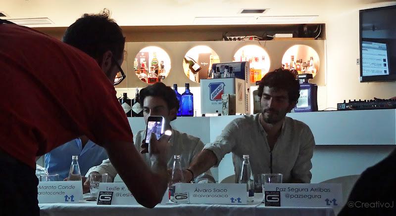 Alvaro Saco, Tapas&Tweets, David Molina Grande, Glace Cocktails