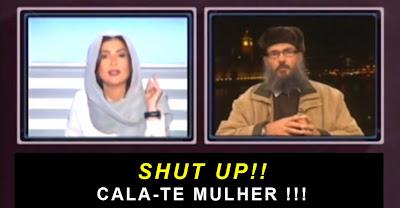 Sheikh manda calar jornalista libanesa Rima Karaki e ela tira-o do ar