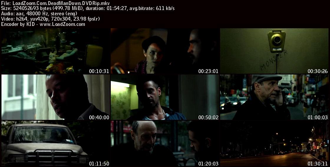 movie screenshot of Dead Man Down fdmovie.com