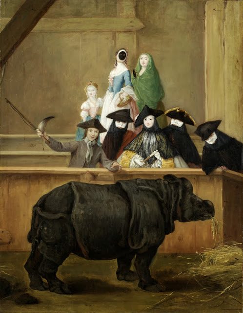 Pietro Longhi - Clara the rhinoceros