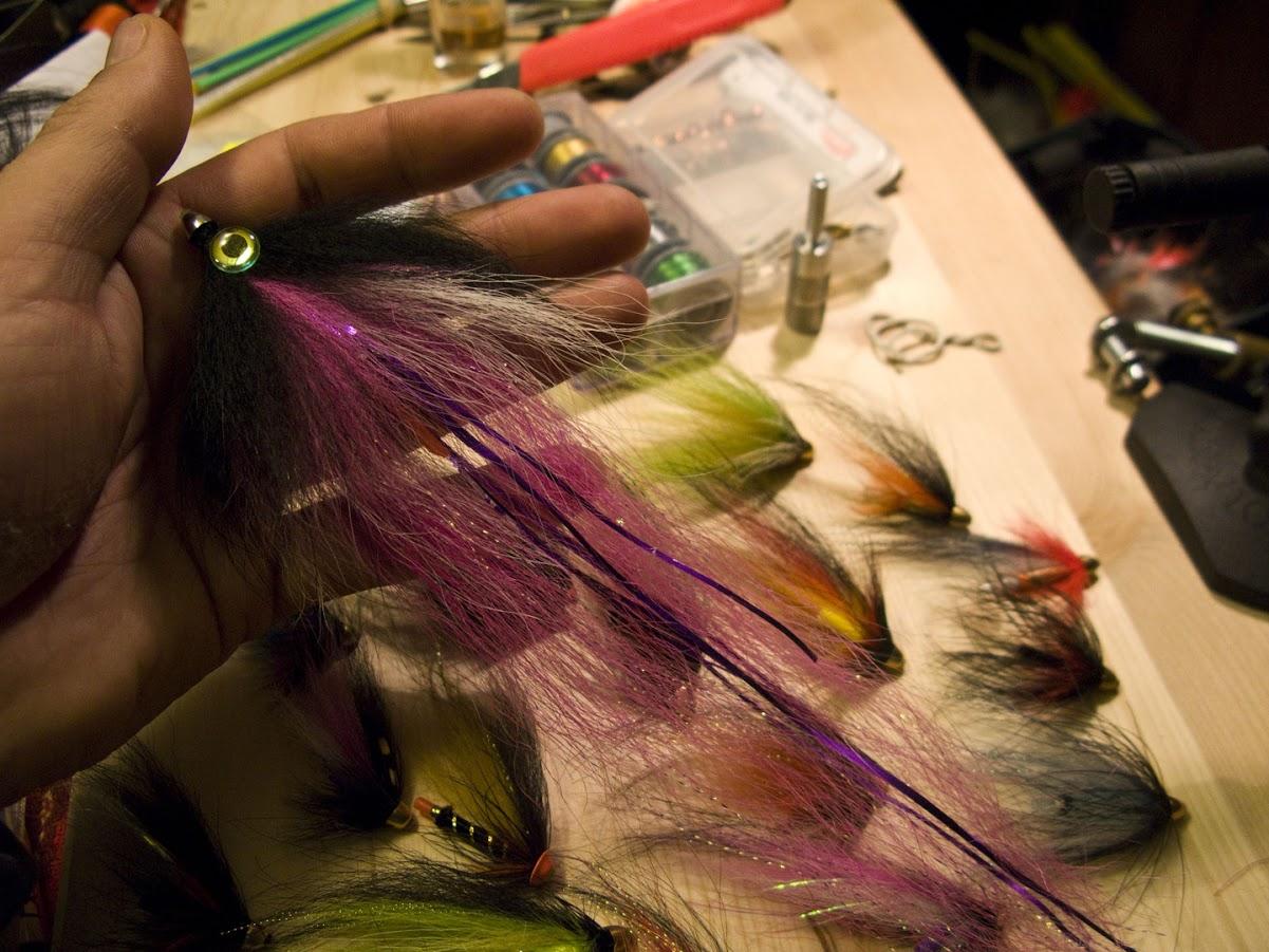 Възстановяване на стримери след риболов