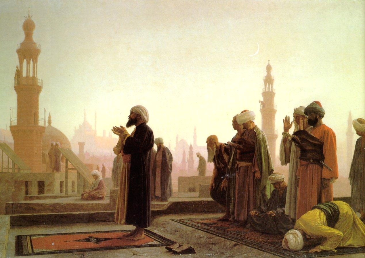 Art depicting Persian people