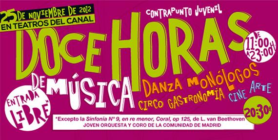 'Contrapunto Juvenil' 12 horas continuas de música, teatro, danza y circo en los Teatros del Canal