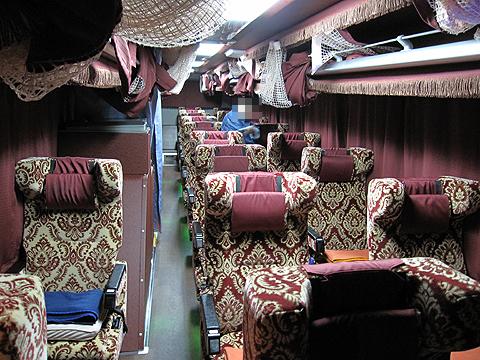 弘南バス「津輕号」 700 車内