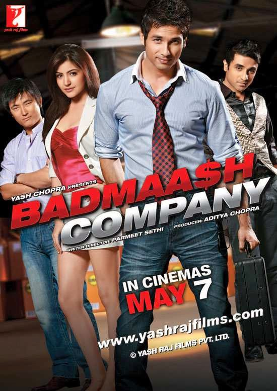 Poster Of Hindi Movie Badmaash Company (2010) Free Download Full New Hindi Movie Watch Online At Alldownloads4u.Com
