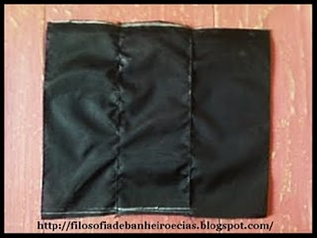 Bolsa Feita Com Pano De Guarda Chuva : Um cadinho de eu passo a bolsa feita com pano