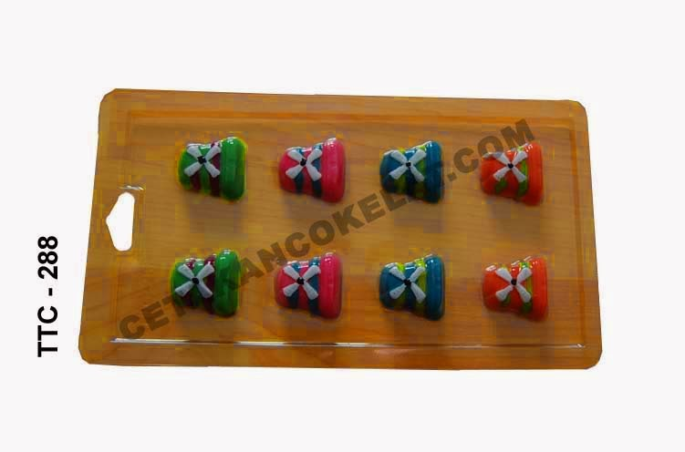 Cetakan Coklat TTC288 Kincir Angin