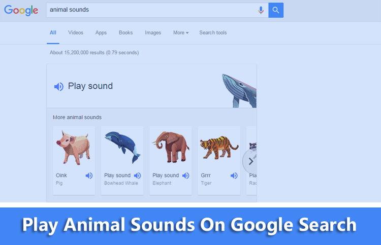 Kenalkan Suara Binatang Pada Anak Dengan Google Search