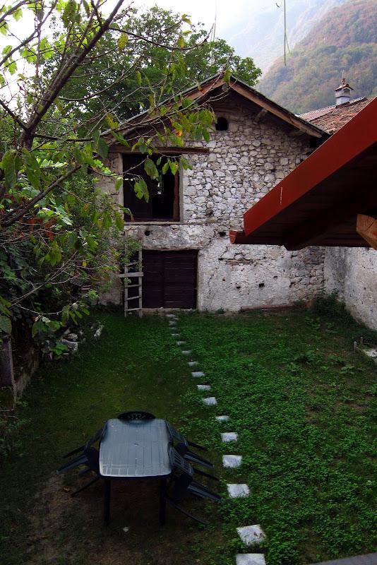Hemingway B&B back garden