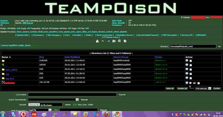 TeaMp0isoN Shell - Private Build [BETA] - v0 1 Download !