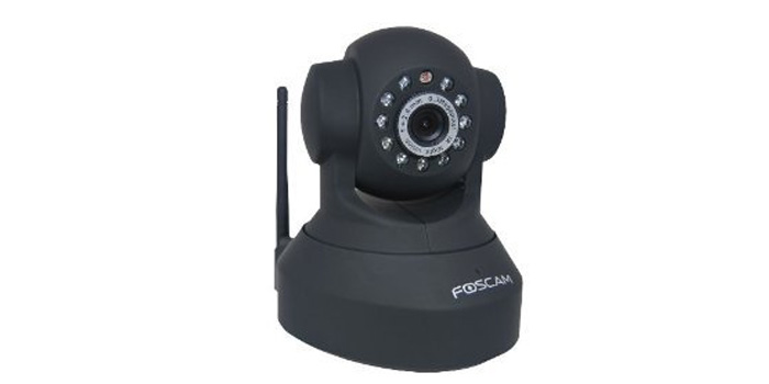 Thumbnail image for Foscam FI8918W Wireless/Wired Pan & Tilt IP/Network Camera with 8 Meter Night Vision and 3.6mm Lens (67° Viewing Angle) – Black NEWEST MODEL (replaces the FI8908W)