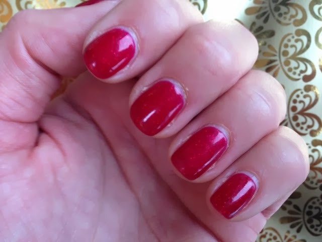 Shellac Make Sure Your Nail Technition Uses An Organs Stick To Stir The Polish Really Well And Get Glitter Evenly Distributed Prior Application