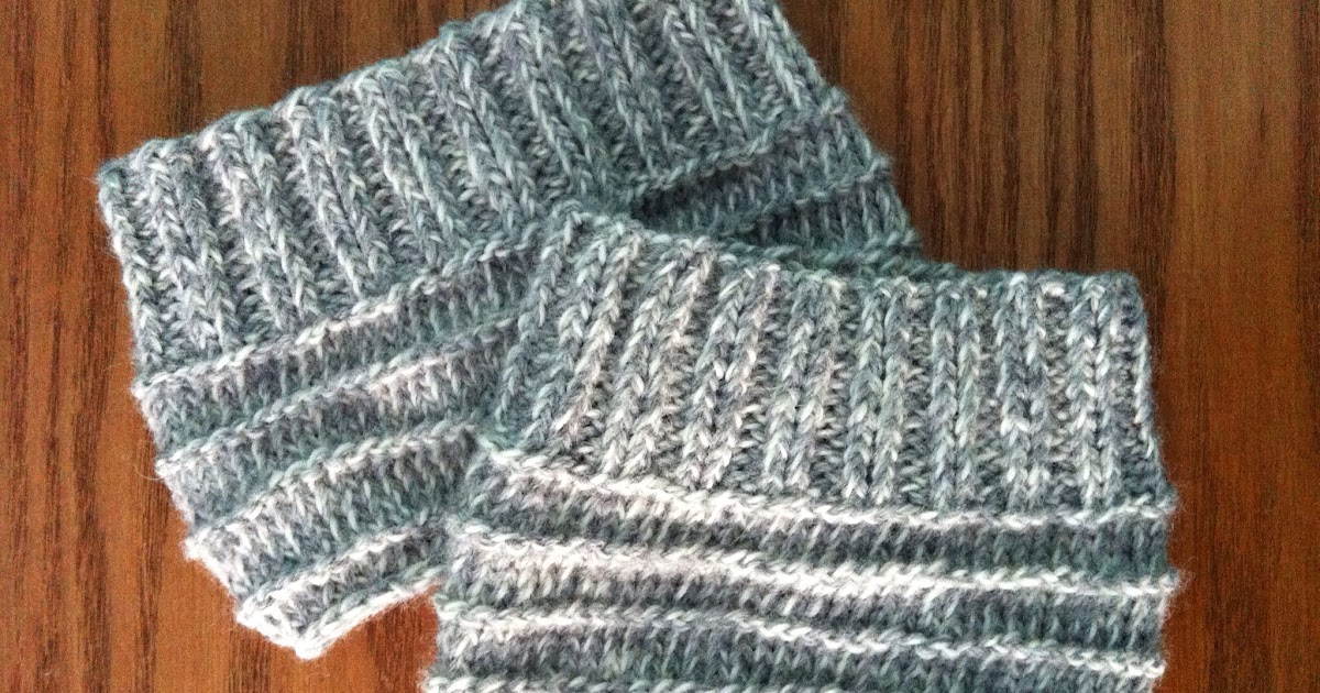 Penelope Rae Knit Boot Cuffs Free Knitting Pattern