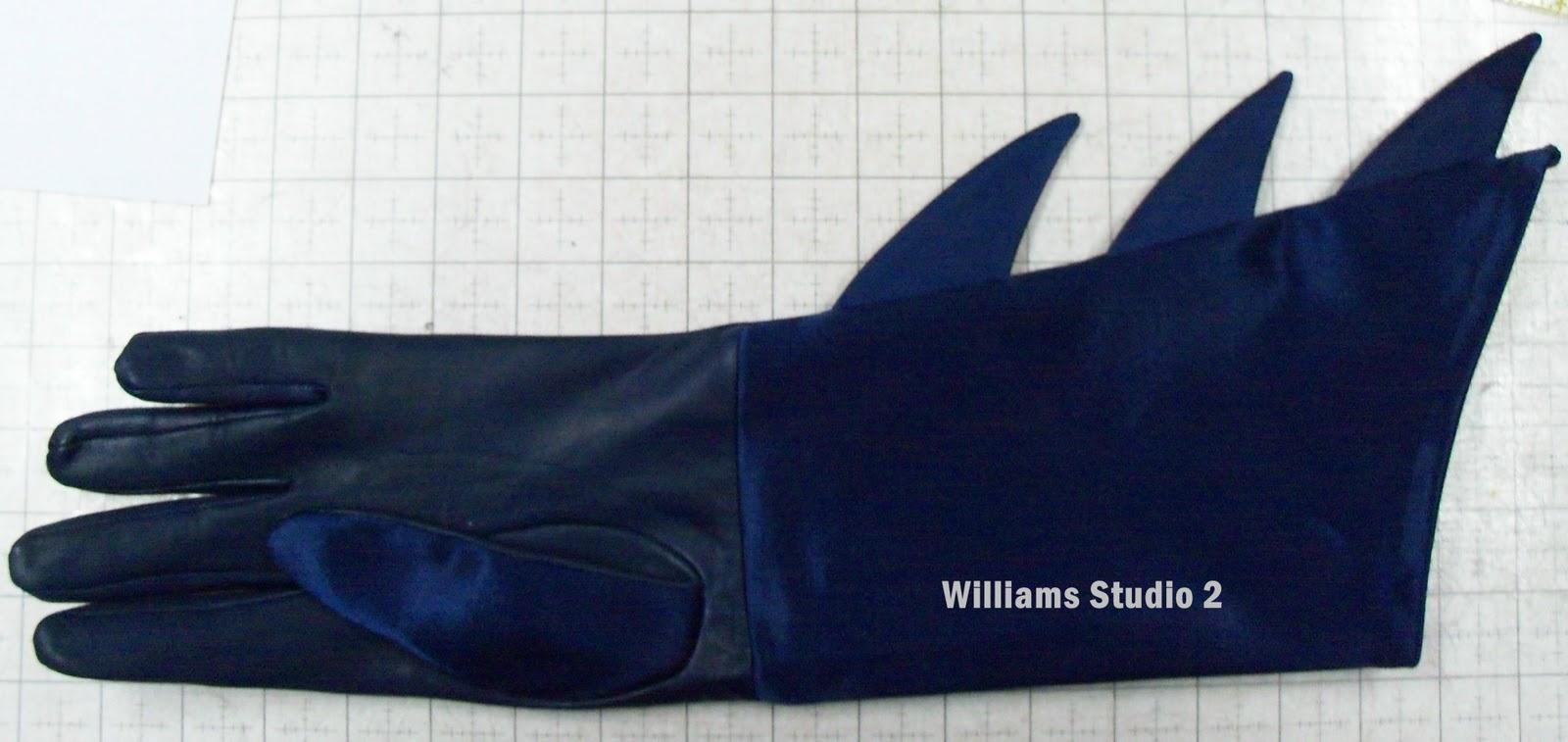 Batman Glove Tutorial - Part 2 & Sewing Cafe: Batman Glove Tutorial - Part 2