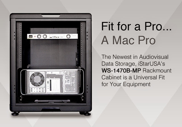 WS-1470B-MP from iStarUSA: Fit for a Mac Pro