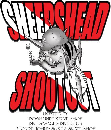 down under dive shop sheepshead shootout. Black Bedroom Furniture Sets. Home Design Ideas