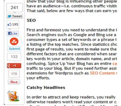 Sticky Bar Widget for Blogger