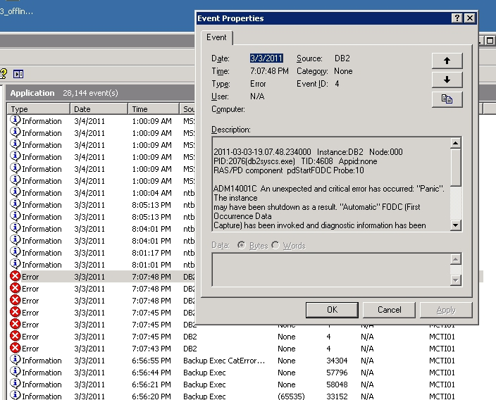 how to read event viewer logs