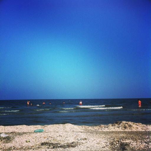 Blue sky…
