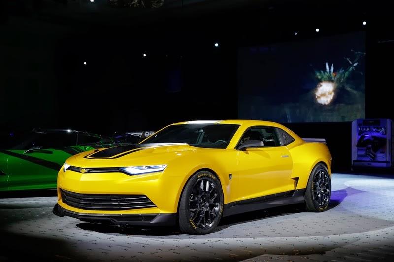 Camaro Transformers 4 Concept
